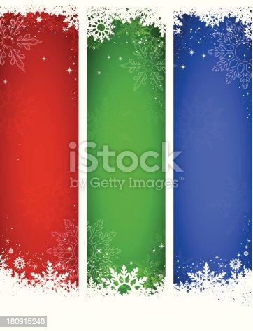 istock Vector Christmas Banners 180915248