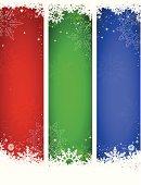 Vector Christmas Banners