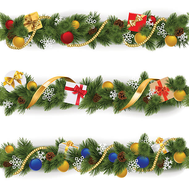 Royalty Free Floral Garland Clip Art, Vector Images ...