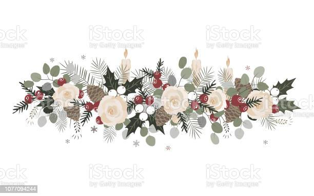 Vector christmas border with fir branches beriies roses ilex and vector id1077094244?b=1&k=6&m=1077094244&s=612x612&h=v1dl7lmt9lqtmgn9i0fg2lkh vvfrgptrml7px8 zae=