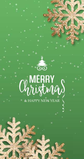 ilustrações de stock, clip art, desenhos animados e ícones de vector christmas card - christmas elements