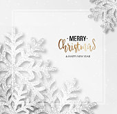 Abstract vector Christmas greeting card