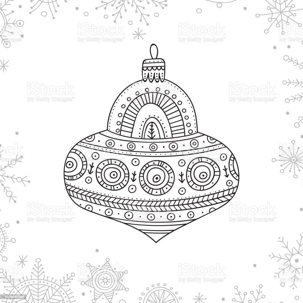 malvorlagen weihnachten kugeln