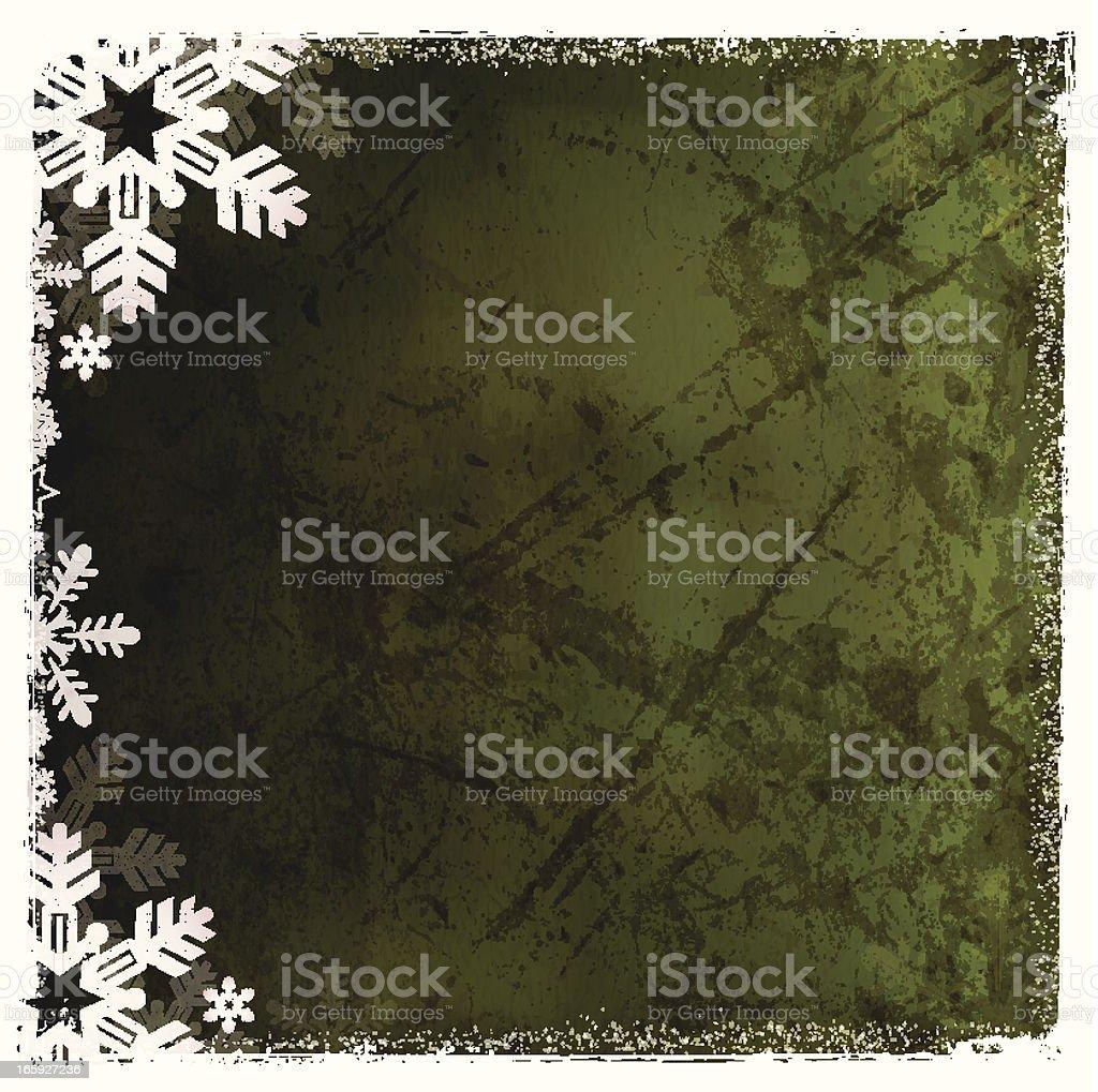 Vector Christmas Grunge Background royalty-free stock vector art