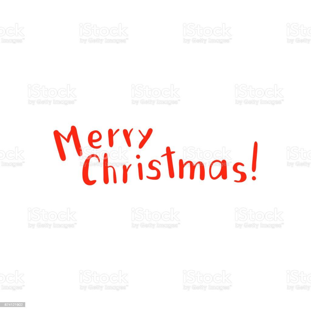 Vektor Weihnachten Schrift Und Kalligrafie Design Stock Vektor Art ...