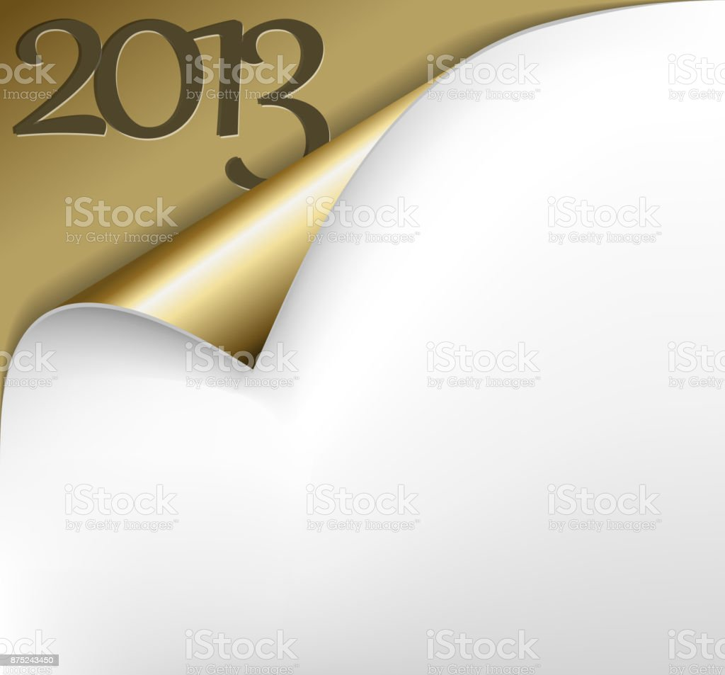 Vector Christmas New Year Card 2013 vector art illustration