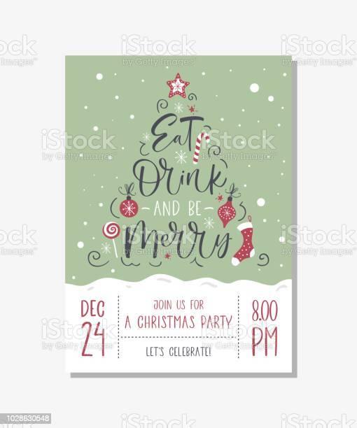 Vector christmas party invitation with handwritten modern brush vector id1028630548?b=1&k=6&m=1028630548&s=612x612&h=cyeasysult5etgweuuirpivwpmi47qlft3og5rjywiq=