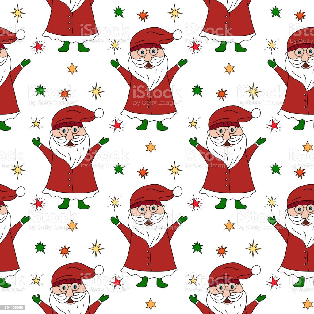 Vector Christmas seamless pattern royalty-free vector christmas seamless pattern stock vector art & more images of abstract
