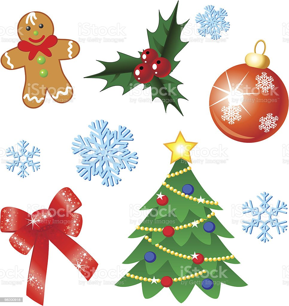 Vector christmas set royalty-free vector christmas set stock vector art & more images of berry fruit