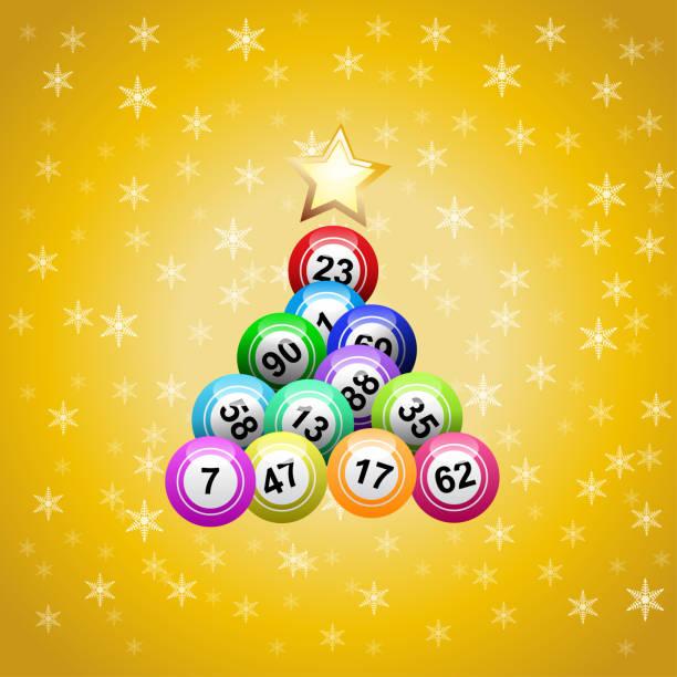 Dibujos De Loteria De Navidad.Loteria Navidad Vectores Libres De Derechos Istock