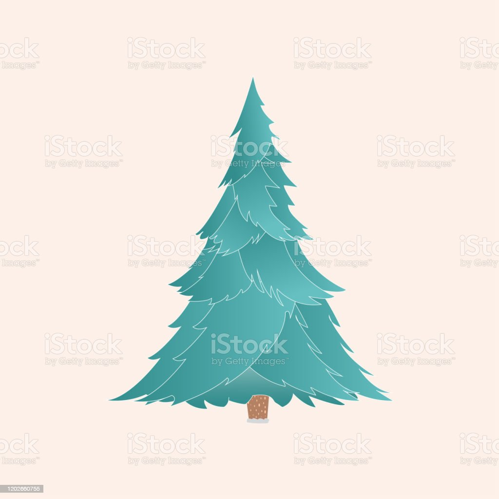 Vector Christmas Tree With Realistic Branches Isolated Stock Illustration Download Image Now Istock The kiddos will have a blast drawing we started with a super simple tree and now we have a realistic one to play with. https www istockphoto com vector vector christmas tree with realistic branches isolated gm1202660755 345364554