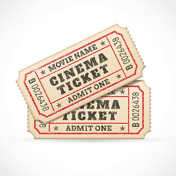 Royalty Free Movie Ticket Clip Art, Vector Images ...