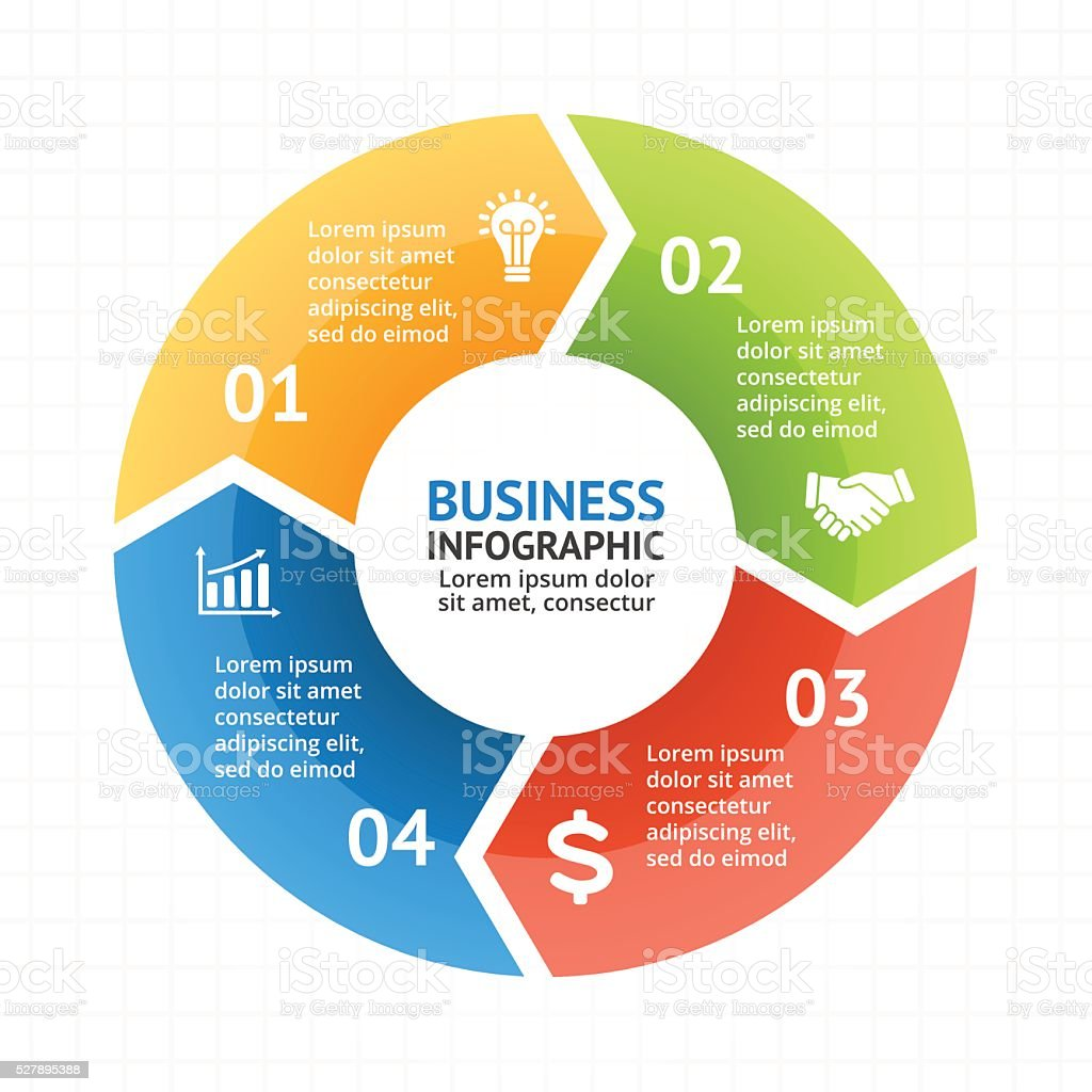 Vector circle arrows infographic diagram graph presentation chart vector circle arrows infographic diagram graph presentation chart business cycle royalty ccuart Image collections