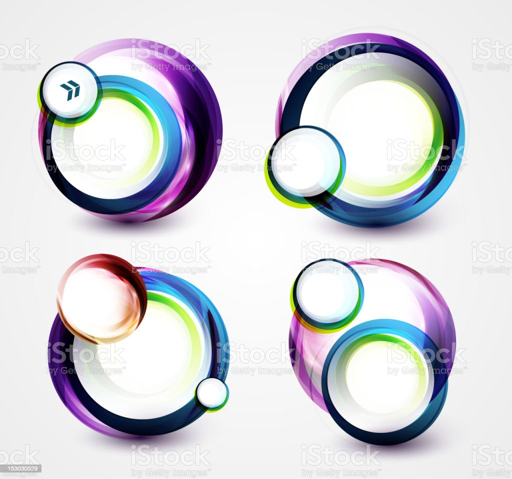 Vector circle banners royalty-free vector circle banners stock vector art & more images of abstract