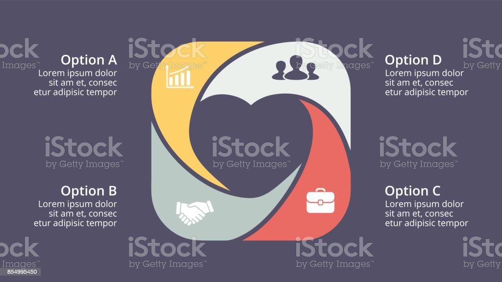 Vector circle heart love valentine infographic cycle diagram graph vector circle heart love valentine infographic cycle diagram graph presentation chart business ccuart Gallery