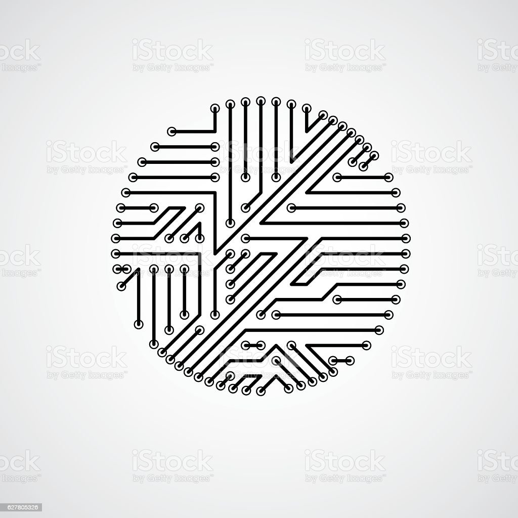 Snap Magnificent Vector Circuit Board Sketch Electrical And Background Royalty Free Stock Image 24974606 Wiring Diagram Ideas Thetadacom