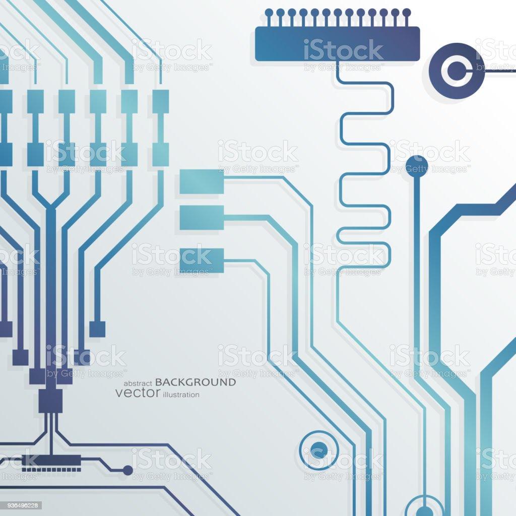 Alien Circuit Board Vector - Schematic Wiring Diagrams •