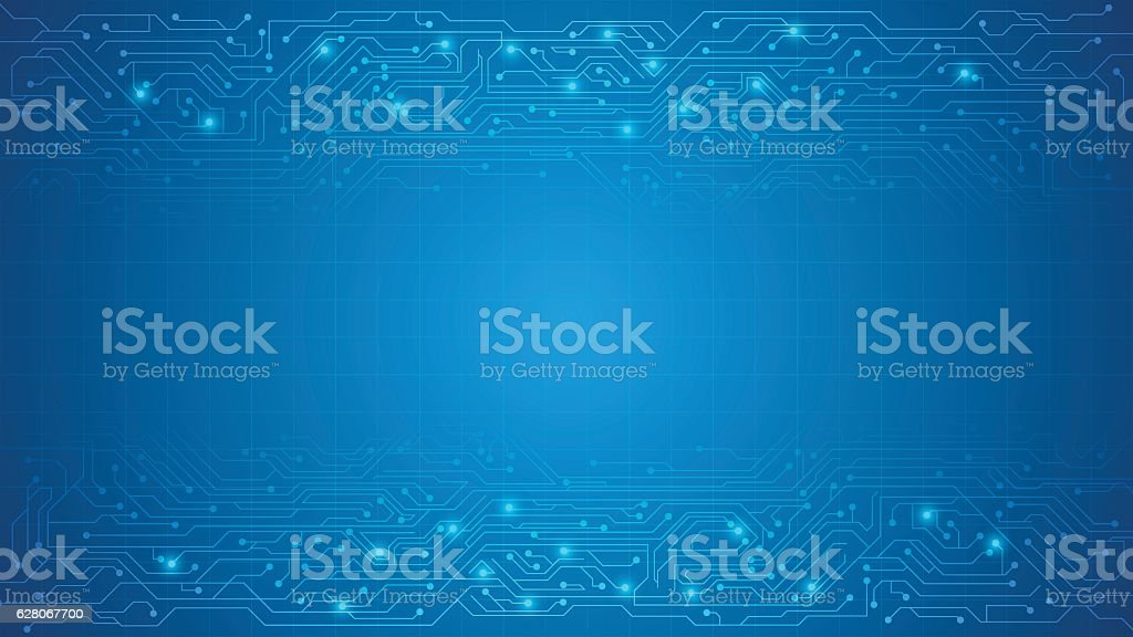 vector circuit texture background royalty-free vector circuit texture background stock illustration - download image now
