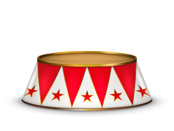vector circus stage - circus stock illustrations