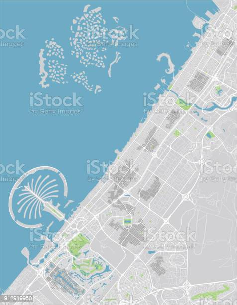 Vector city map of dubai with well organized separated layers vector id912919950?b=1&k=6&m=912919950&s=612x612&h=43mgo9bu0zy4qslzauih5muwk rilwiyiibn6mabxxw=