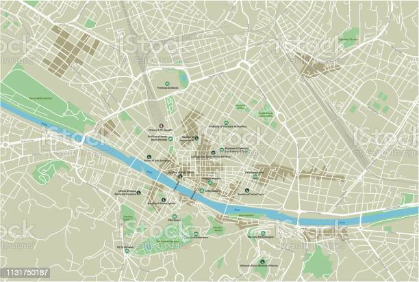 Vector city map of florence with well organized separated layers vector id1131750187?b=1&k=6&m=1131750187&s=612x612&h=af4jnsfqd2qjt q ii6amlqhwwq73 ikkk2kvxkfqqk=