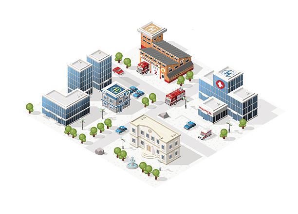 Vector City. vector art illustration