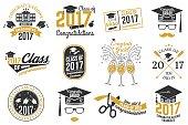 Vector Class of 2017 badge
