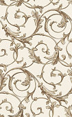 Vector classic seamless pattern background. Classical luxury old fashioned classic ornament, royal victorian seamless texture for wallpapers, textile, wrapping. Exquisite floral baroque template