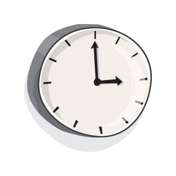 120 Cartoon Of A Ticking Clock Animation Illustrations & Clip Art - iStock