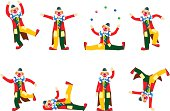 Vector clowns