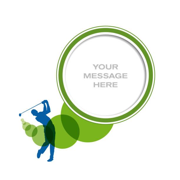 ilustrações de stock, clip art, desenhos animados e ícones de vector club golf background - golf