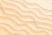 istock Vector coastal beach sand waves, dunes background 1131221949