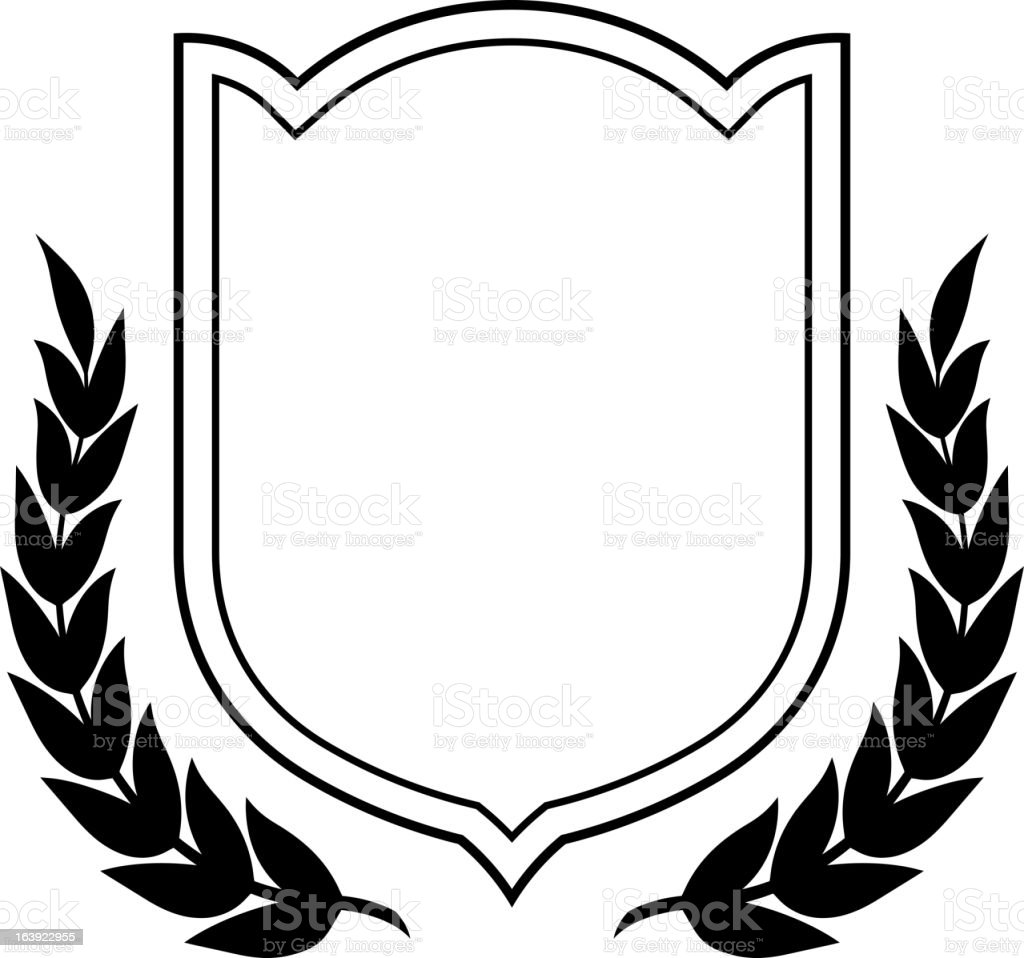 Vector coat of arms and laurel wreath royalty-free vector coat of arms and laurel wreath stock vector art & more images of award