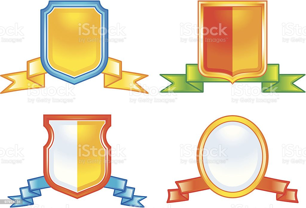 Vector coats of arms royalty-free vector coats of arms stock vector art & more images of award