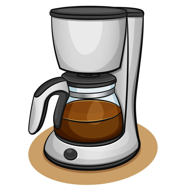 Best Coffee Maker Illustrations Royalty Free Vector Graphics Clip