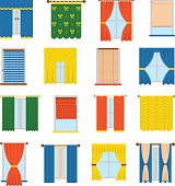 Vector collection blinds