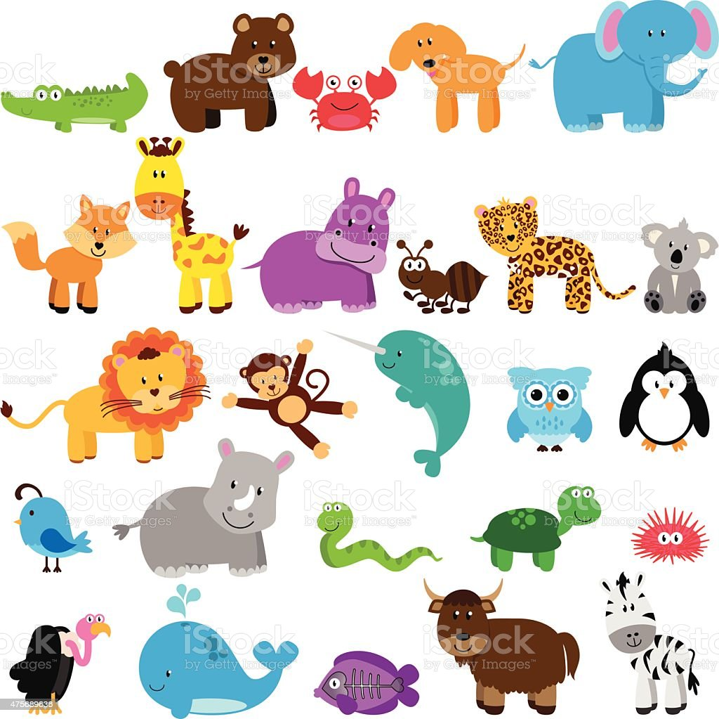 Vector Collection of Animals vector art illustration