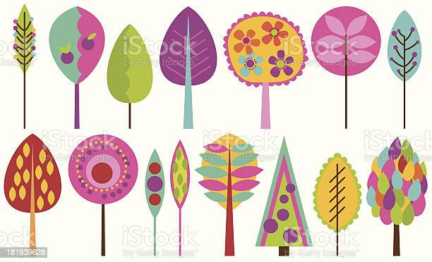 Vector collection of funky retro stylized trees vector id181939628?b=1&k=6&m=181939628&s=612x612&h=zkwd9yg 6s709jsthzqezyb2puzwtntgxjnddlbqpzu=