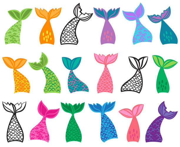 5 325 Mermaid Tail Illustrations Royalty Free Vector Graphics Clip Art Istock Explore the 39+ collection of mermaid tail clipart images at getdrawings. 5 325 mermaid tail illustrations royalty free vector graphics clip art istock