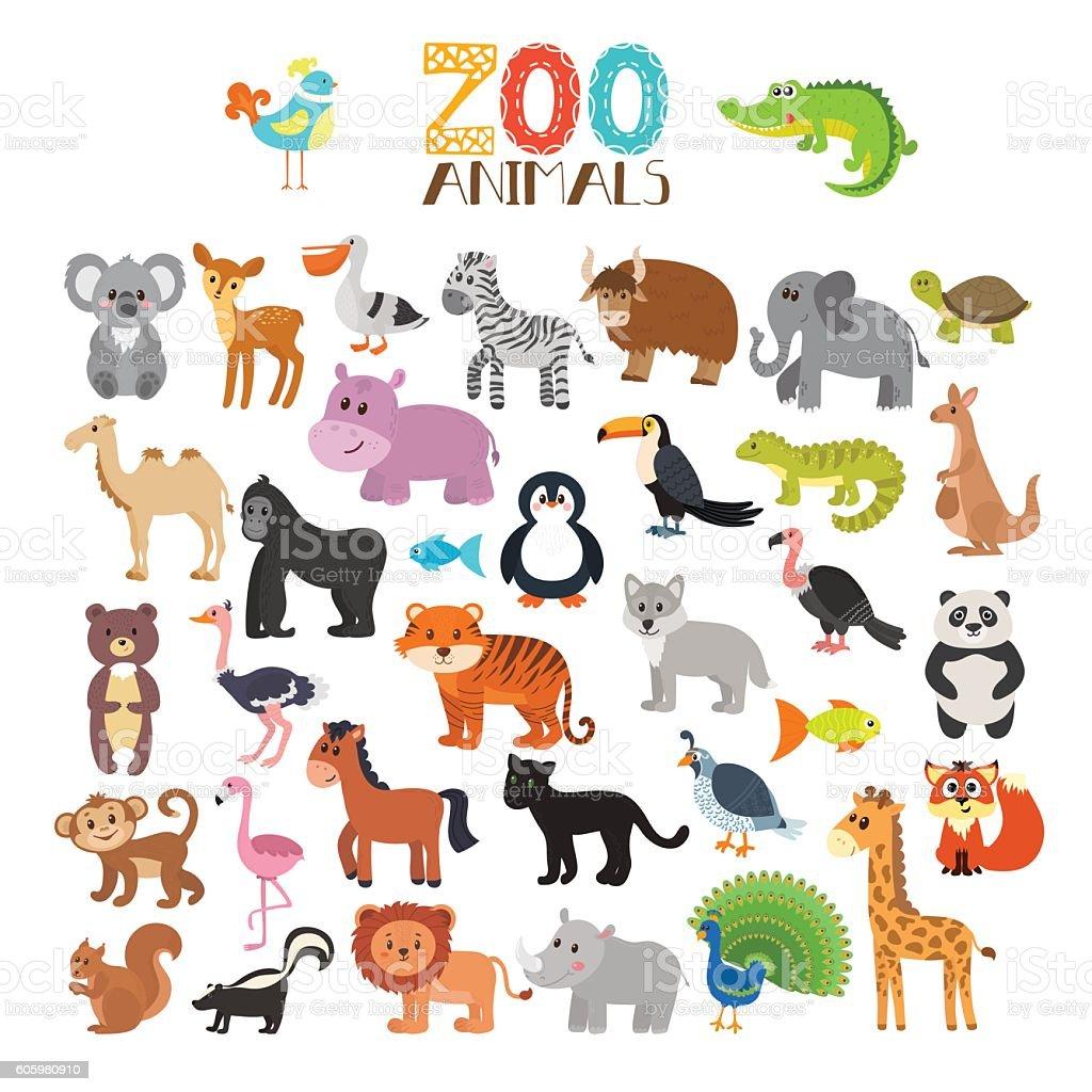 royalty free animal clip art vector images illustrations istock rh istockphoto com zoo animal clipart cartoons zoo animal clipart images