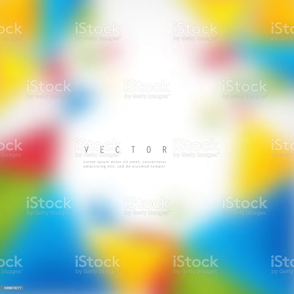 Vector Color Background Abstract Polygon Triangle Stock