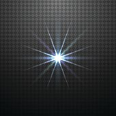 Vector color glowing light effect.