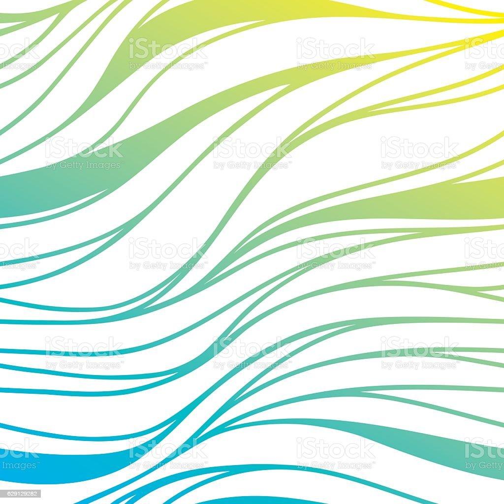 Vector Colore Onda Di Mare Sullo Sfondo Astratto Blu Mare Immagini