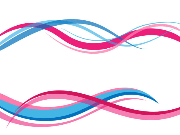 Vector colorful abstract background. Wavy waves banner color line for web banner. Vector colorful abstract background. Wavy waves banner color line for web banner. curve stock illustrations