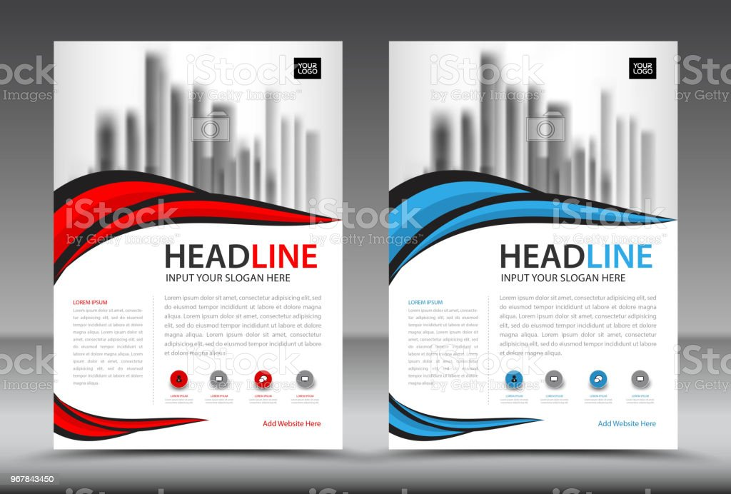 vector colorful flyers design template business brochure flyer