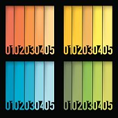 vector colorful infographic template