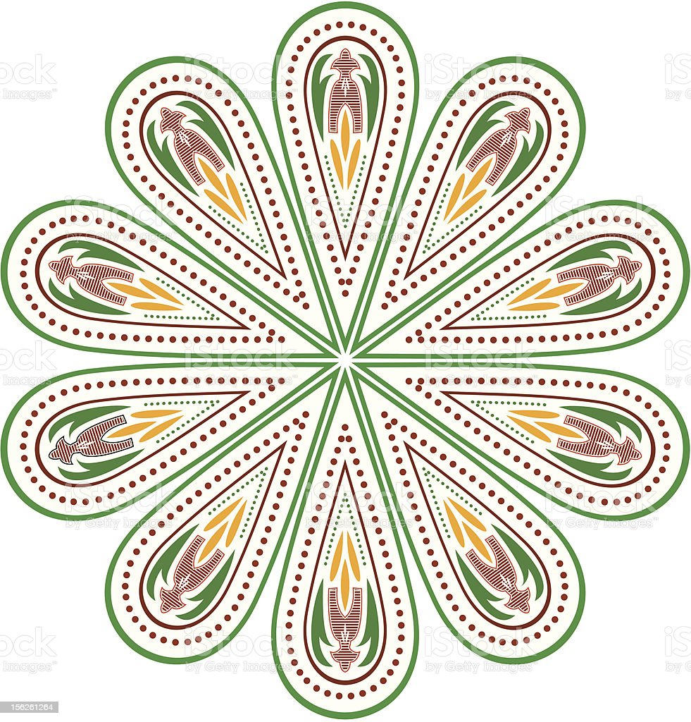 vector colorful ornament