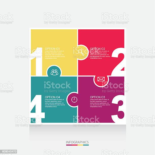 Vector colorful puzzle info graphics for your presentations vector id609043470?b=1&k=6&m=609043470&s=612x612&h=4jidcjaawrjyung49dsmdsdpve3n0dblx0ckplf d6i=