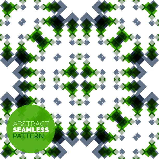 vektor-bunte nahtlose geometrische muster.   moderne und stilvolle abstrakte struktur - gartendekorationen stock-grafiken, -clipart, -cartoons und -symbole