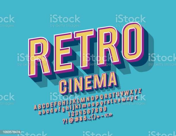 Vector colorful sign retro cinema with alphabet vector id1053578474?b=1&k=6&m=1053578474&s=612x612&h=u9qxxfvqy x8qaewu4x9s7qoxxa2dwpftradzmsrn08=